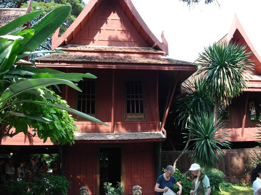 View of the Jim Thompson House in Bangkok